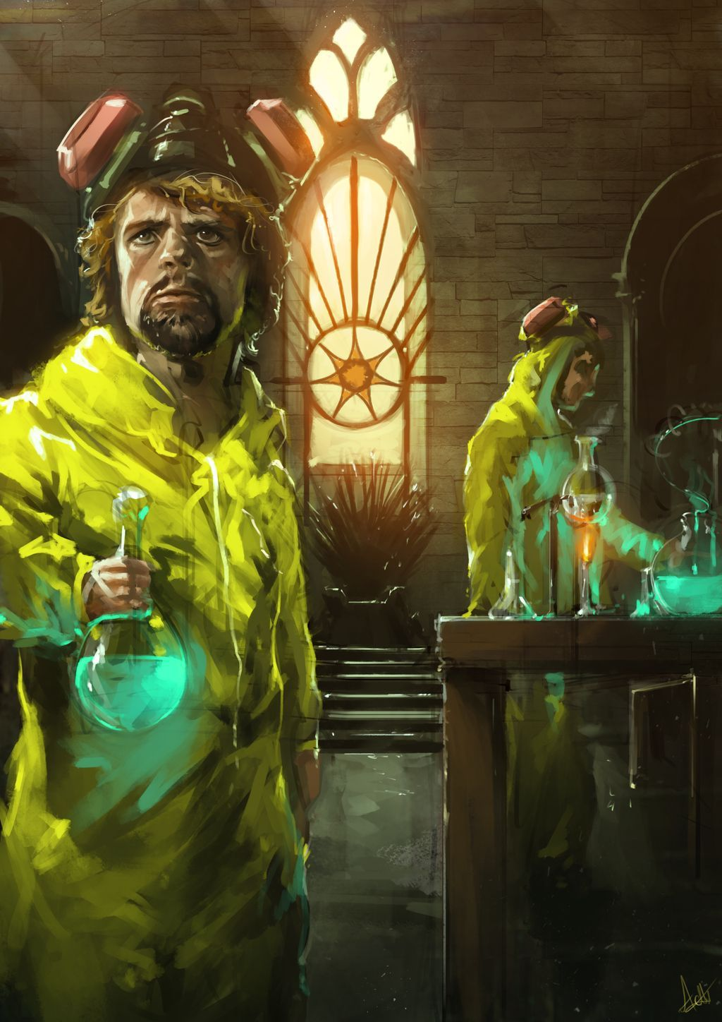 Tyrion Lannister  The One Who Knocks By Aaron Griffin Art