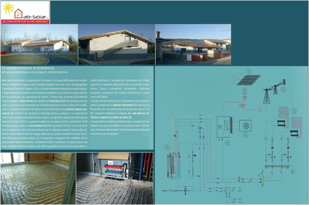 Realizzazione di impianto a pavimento in casa  in bioedilizia
