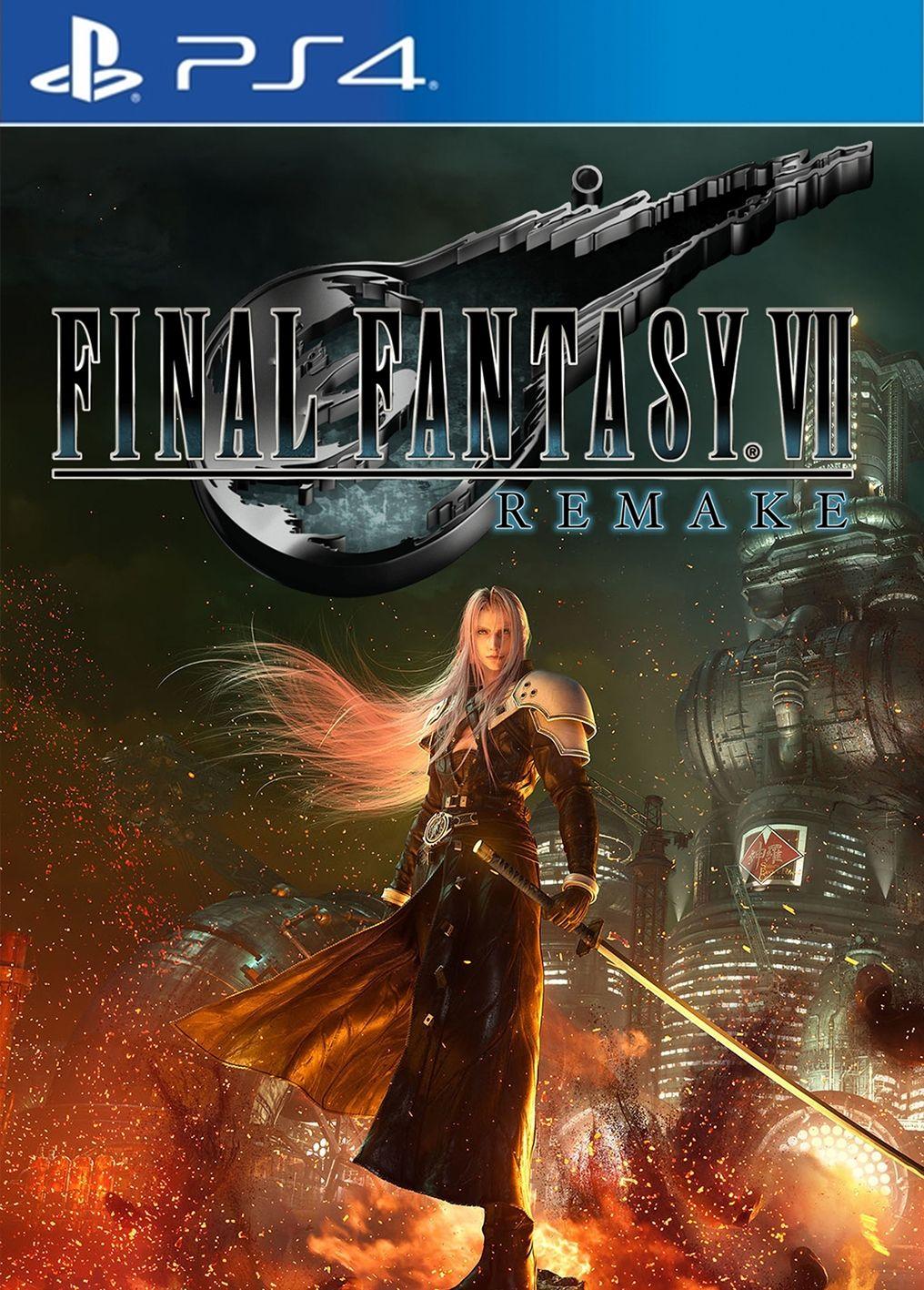 Acheter Final Fantasy Vii Remake Ps4 Playstation Final Fantasy