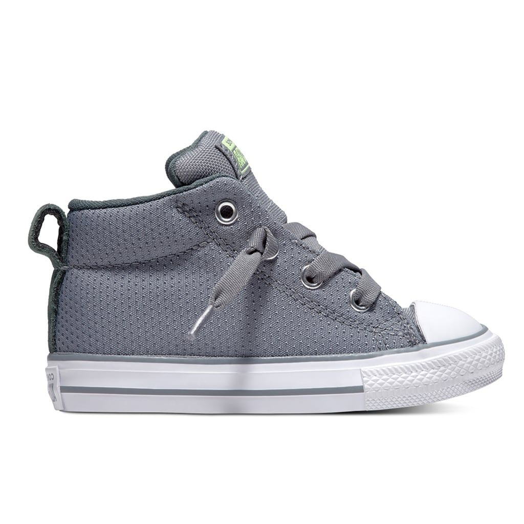 0377f671f15 Toddler Boys' Converse Chuck Taylor All Star Street Mid Sneakers, Size: 10  T, Med Grey