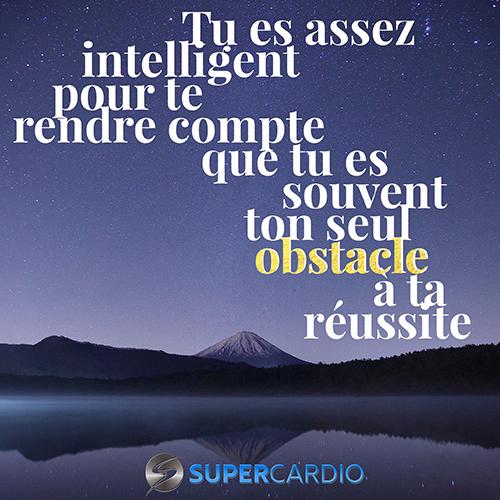Toi Obstacle Reussite Citation Motivation Supercardio