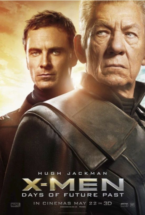 X Men Days Of Future Past Character Posters Feature Magneto Mystique And Wolverine Days Of Future Past X Men Marvel Movies