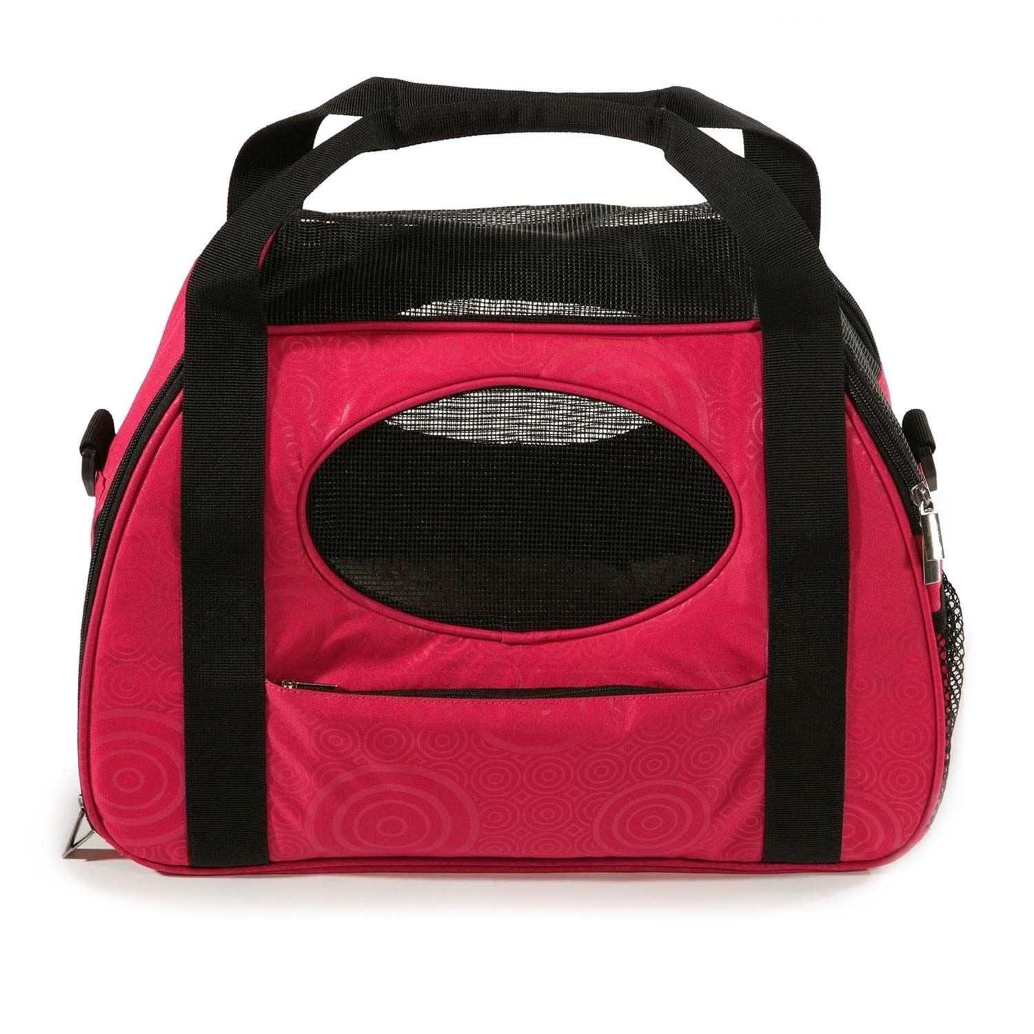 Gen7Pets CarryMe Fashion Pet Carrier in Red Pet