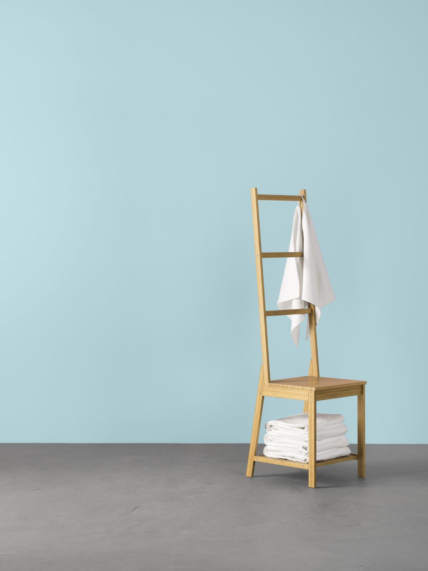 RÅGRUND Stoel met handdoekenrek, bamboe | H O M E | Pinterest | Catalog