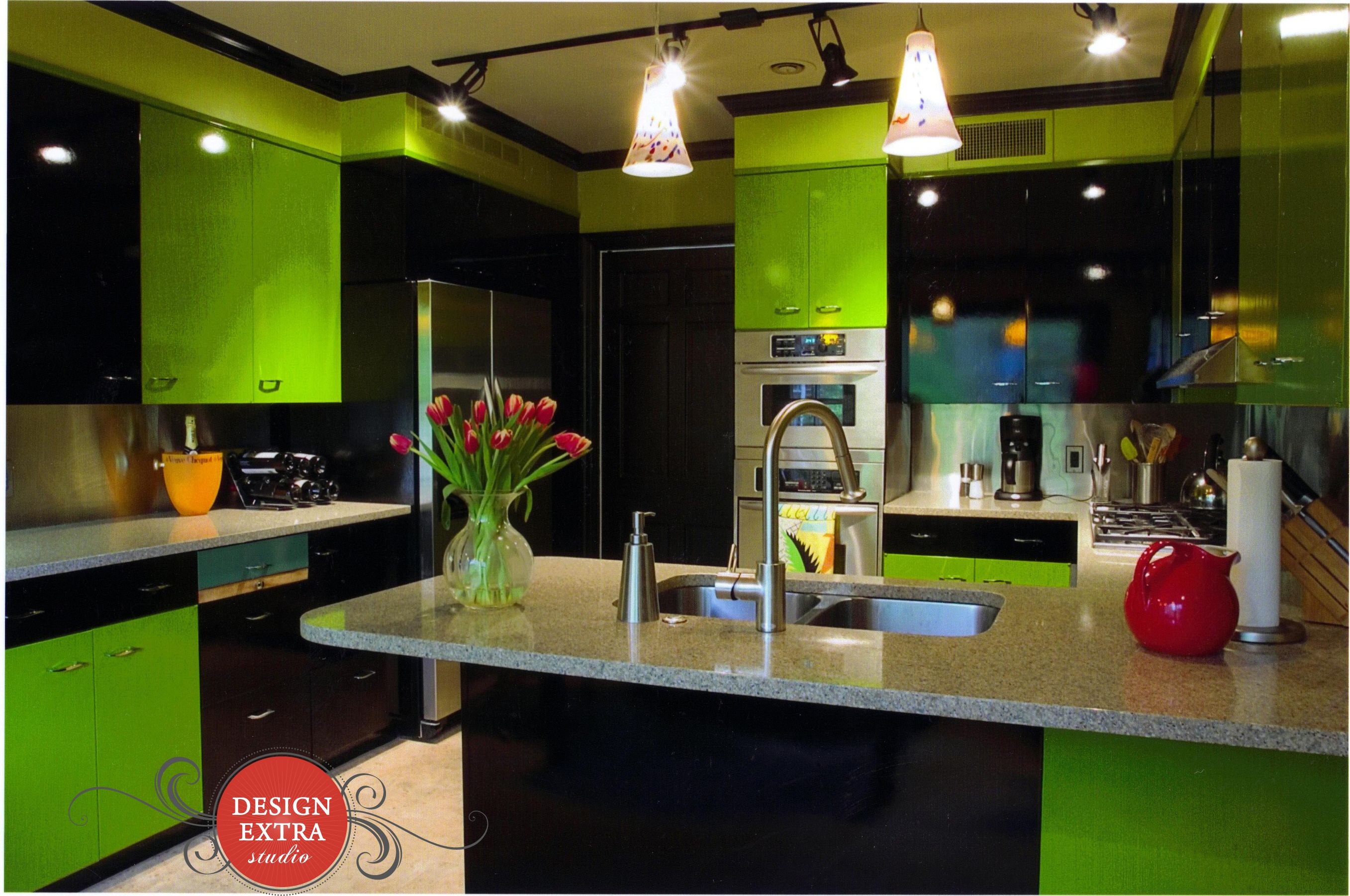 Green Kitchen Design Extra Llc Green Kitchen Kitchen