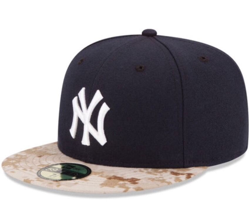 New York Yankees New Era 59Fifty 2015 Memorial Day Camo 7 1 2 Fitted Cap Hat 581f98b55578