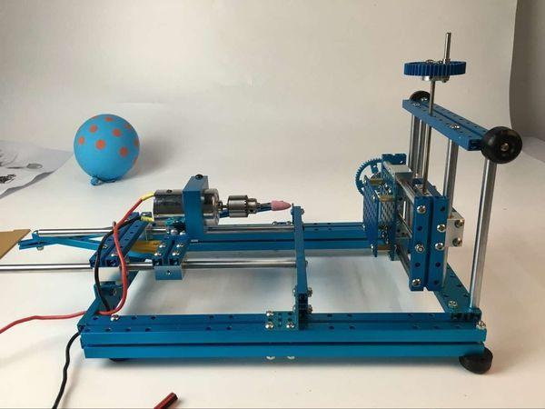 How to Make a Five-in-One  Mini Wood Working Machine