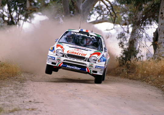 Toyota Corolla Compact WRC (AE111) '199799 Toyota