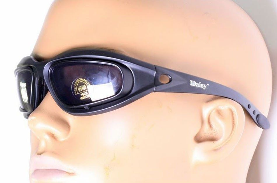 891ffc493b7 Free shipping SAIYU C5 Army Goggles Desert Storm 4 Lens Outdoor Sports  Hunting Sunglasses Anti UVA UVB X7 Polarized War Game Motorcycle Glasse