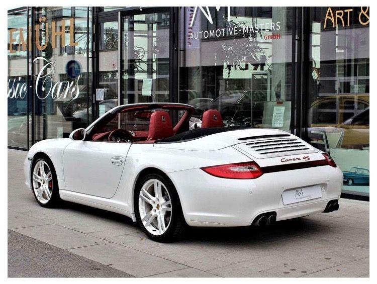 Porsche Carrera 4s Cabrio 2016 White Porsche 911 Cabriolet Porsche Cabriolets