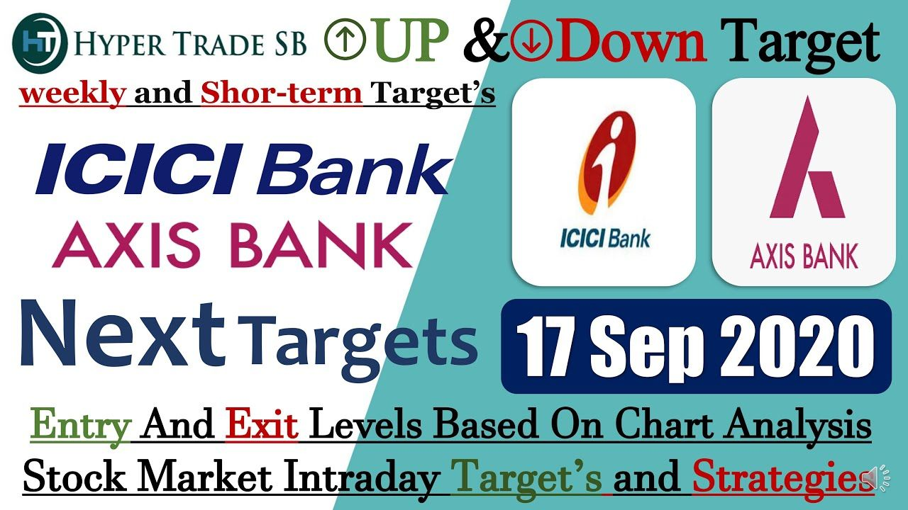 Best intraday stocks 17 Sept/Axis Bank Share/Icici Bank