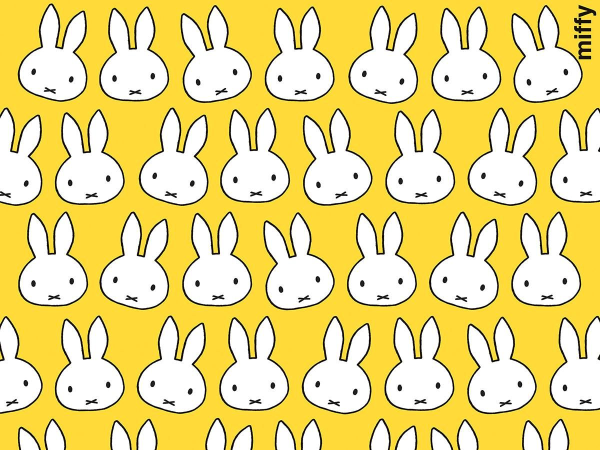 Is That The Easter Bunny ミッフィー イラスト おしゃれな壁紙背景