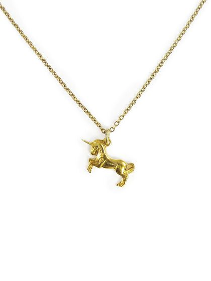 Ornamental Things Unicorn Necklace