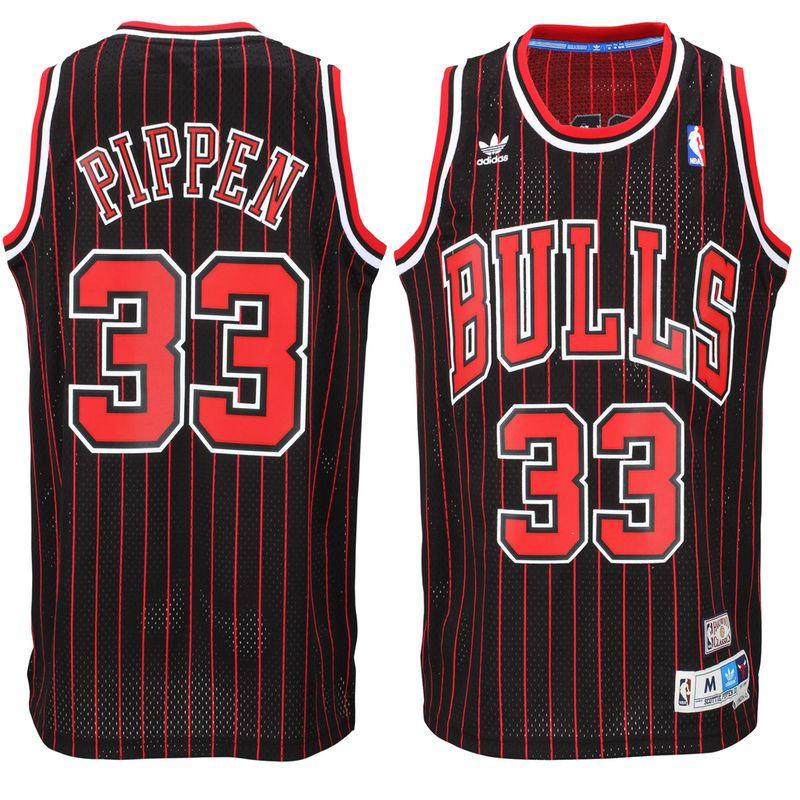 11476eaf5ee3 Scottie Pippen Chicago Bulls adidas Hardwood Classics Swingman Jersey -  Black