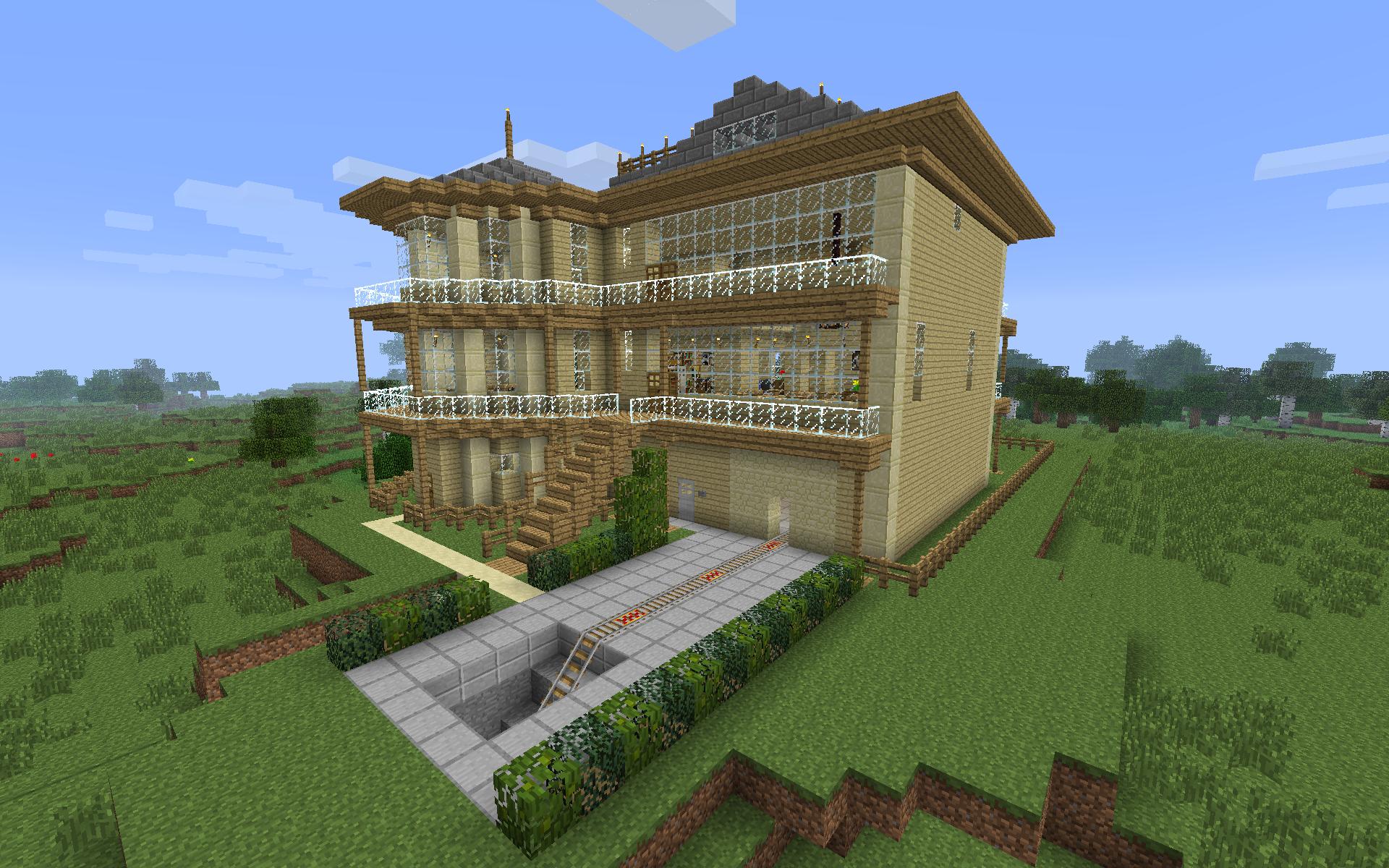 Best minecraft house blueprints villa seeds images also rh hu pinterest