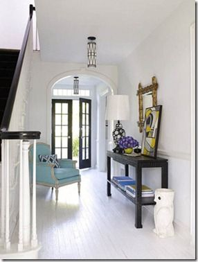 Gwen Moss Four Feng Shui Tips For Your Entryway White Painted