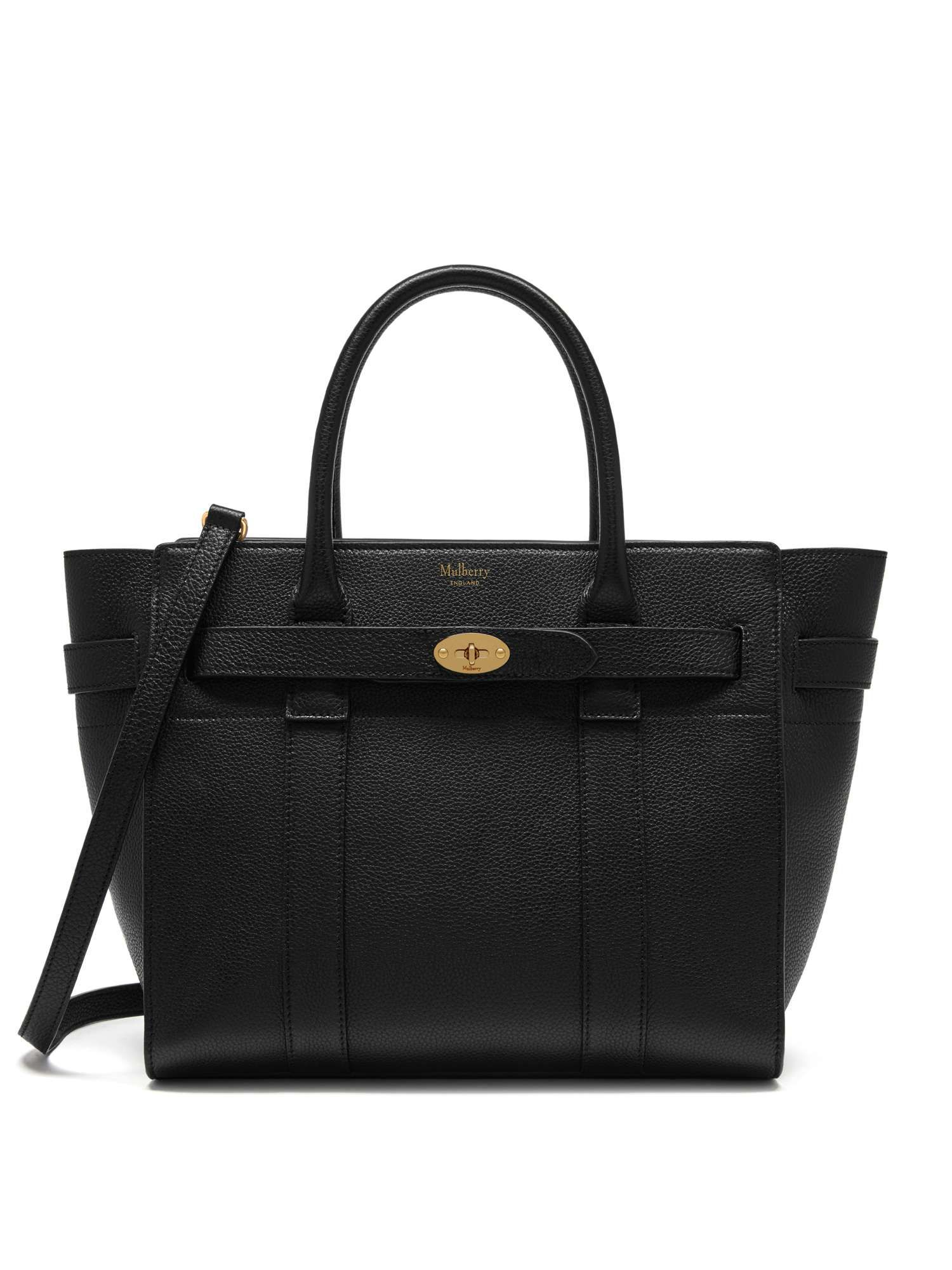 Mulberry Small Zipped Bayswater Bag - House of Fraser  df9d971961d00