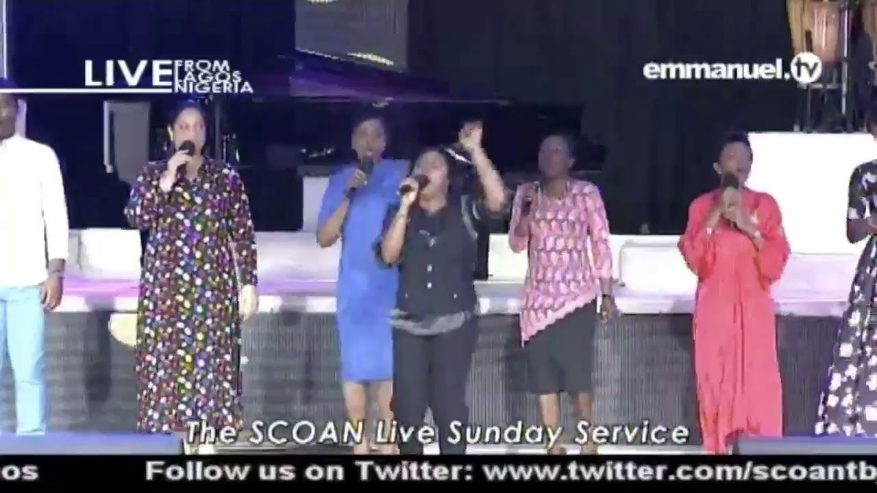 LIVE Sunday Service At The SCOAN With T B  Joshua (27/05/18