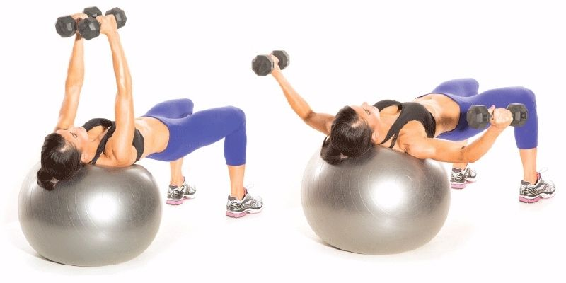 15 Stability Ball Moves for a Total Body Workout | Stability ball, Stability ball exercises, Ball exercises