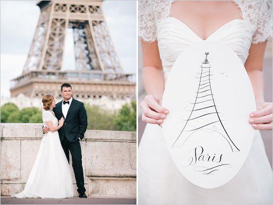 French Wedding Paris Ideas