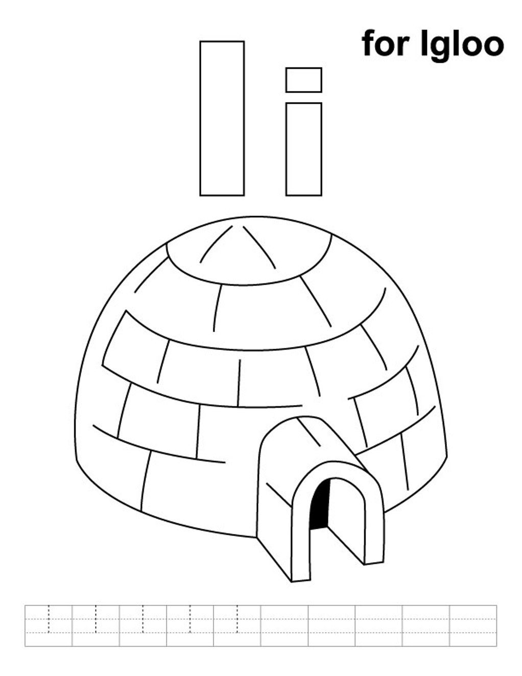 Alphabet coloring igloo coloring pages alphabet i igloo coloring alphabet coloring igloo coloring pages alphabet i igloo coloring pages pooptronica