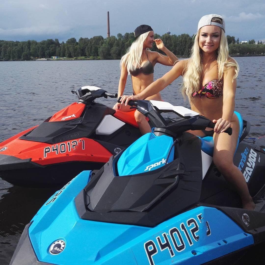 Pin By Nicolebrandii On Sea Doo Spark Boat Girl Jet Ski Seadoo