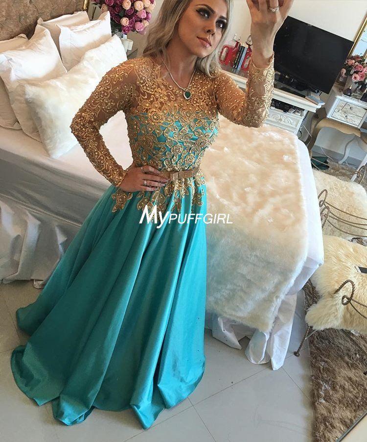 533819d19a9 Jade Satin Long Sleeve Prom Dress