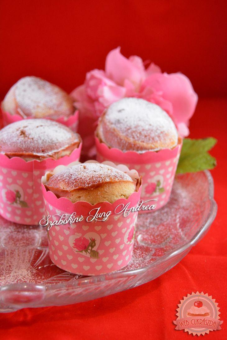 Gyümölcsjoghurtos muffin