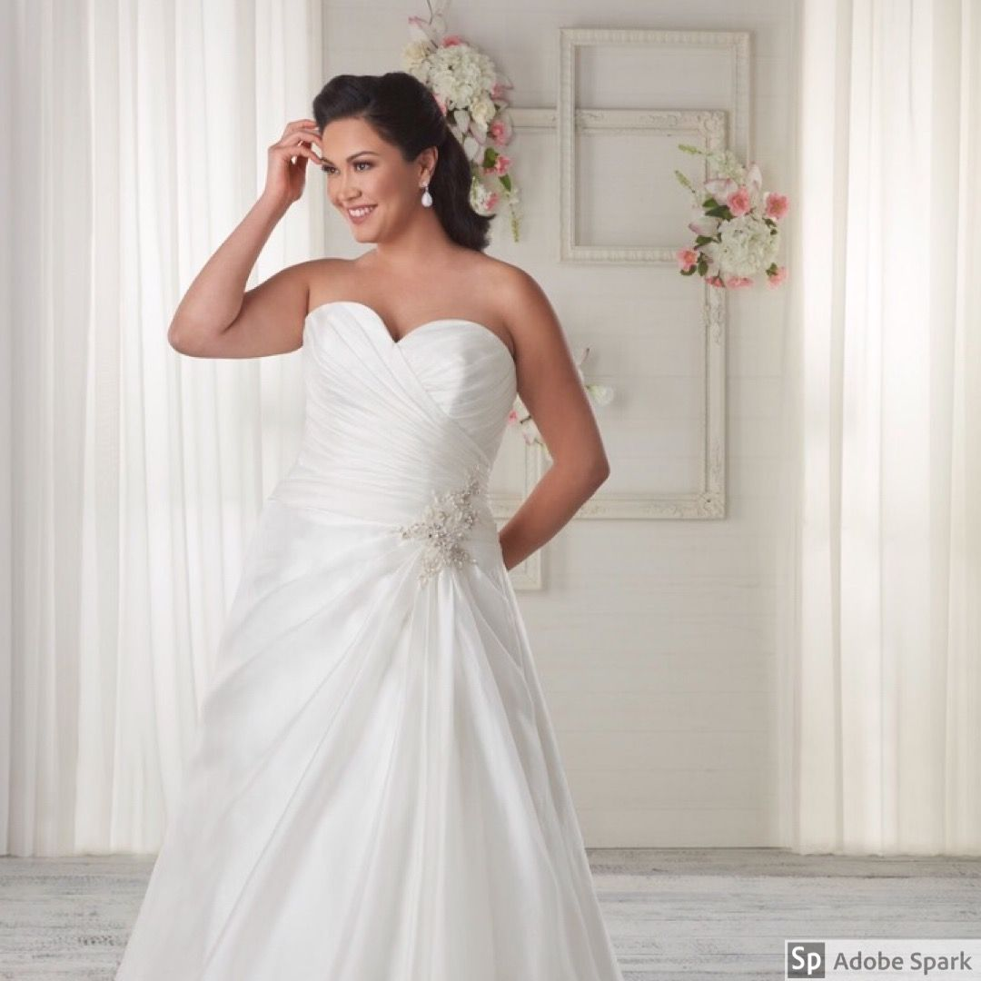 Size 24 wedding dress  At Betti James Bridal Bonny Bridal Unforgettable Collection
