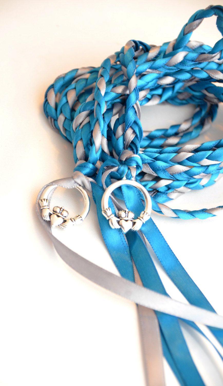 Oasis Claddagh Wedding Hand Fasting/ Binding Cord Celtic