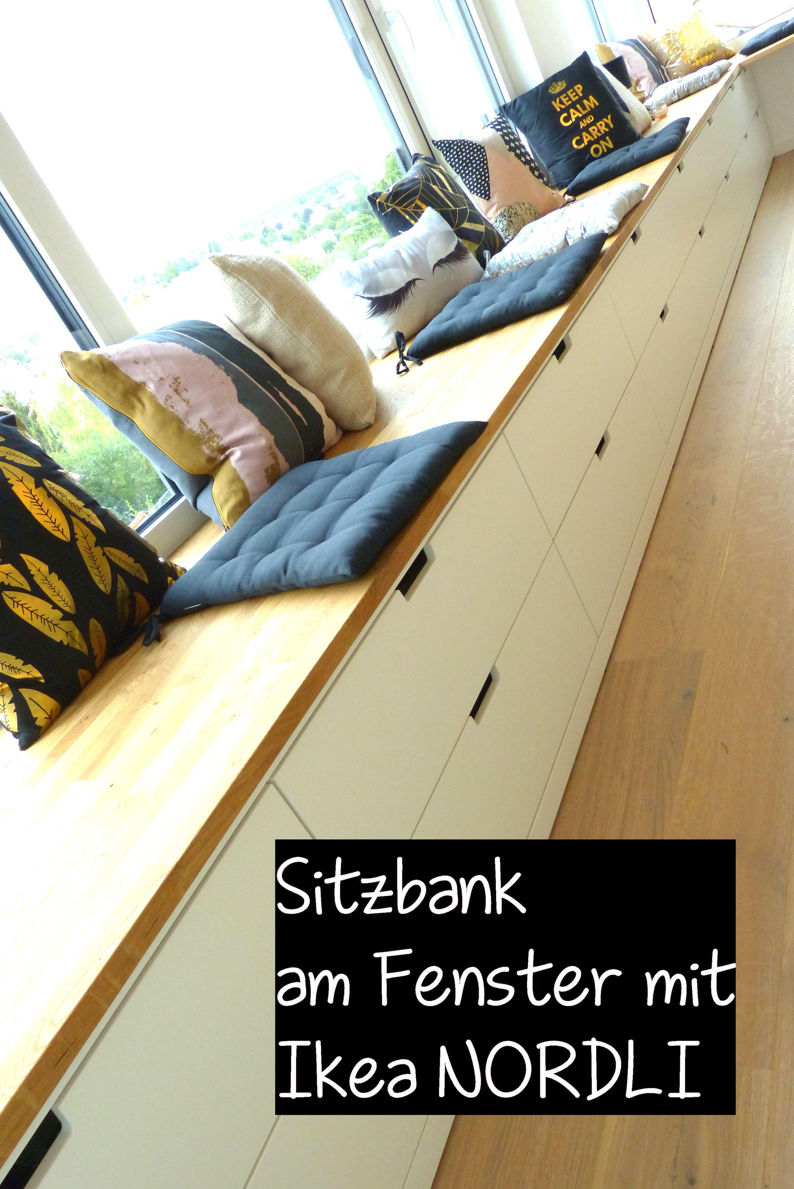 DIY Ikea Hack – Sitzbank am Fenster mit Nordli Kommoden