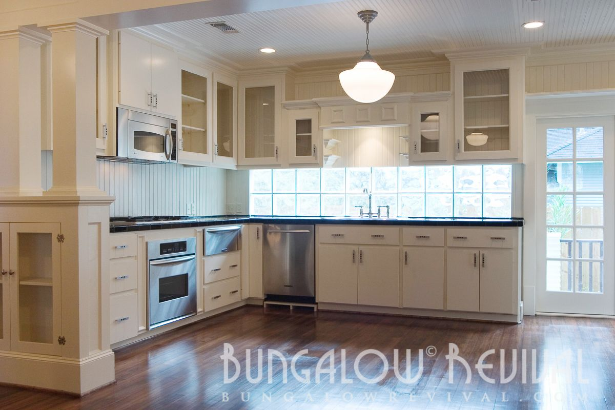 Kitchen backsplash near window  kitchens  for the home  pinterest  bungalow and kitchens