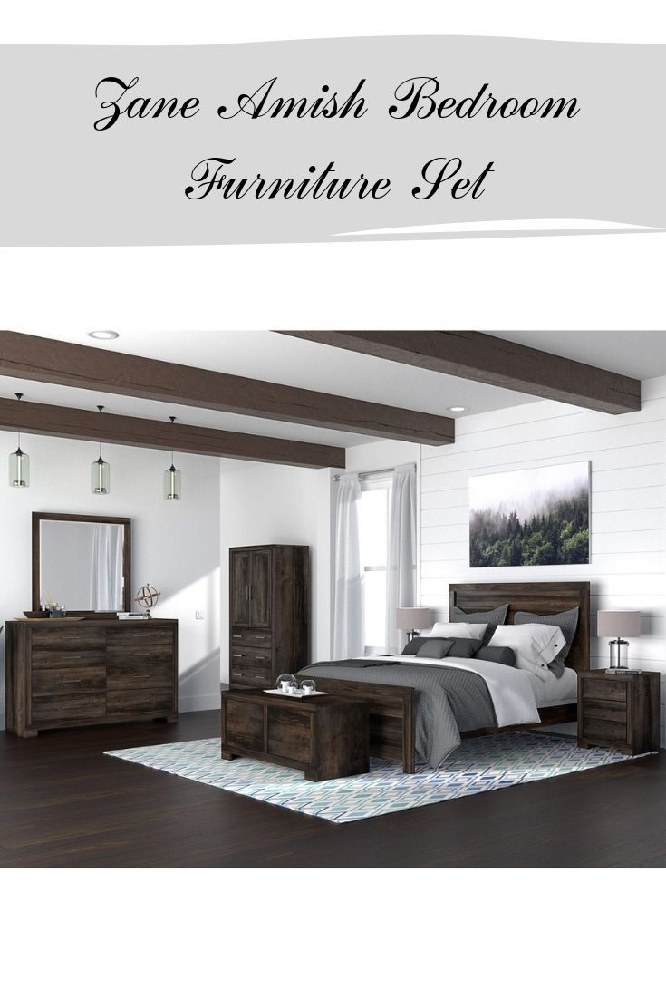Reinvent Your Master Bedroom With The Zane Amish Bed Blanket Chest Armoire Nightsta