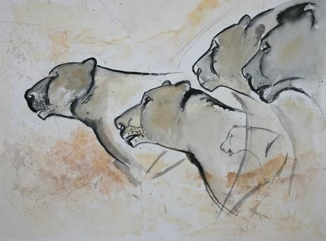 Lion Man Cave Art : My fascination with cave art chauvet ancient and graffiti