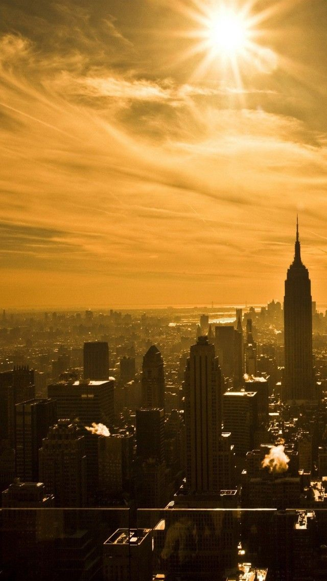Empire State Building New York City Iphone 5 Wallpapers