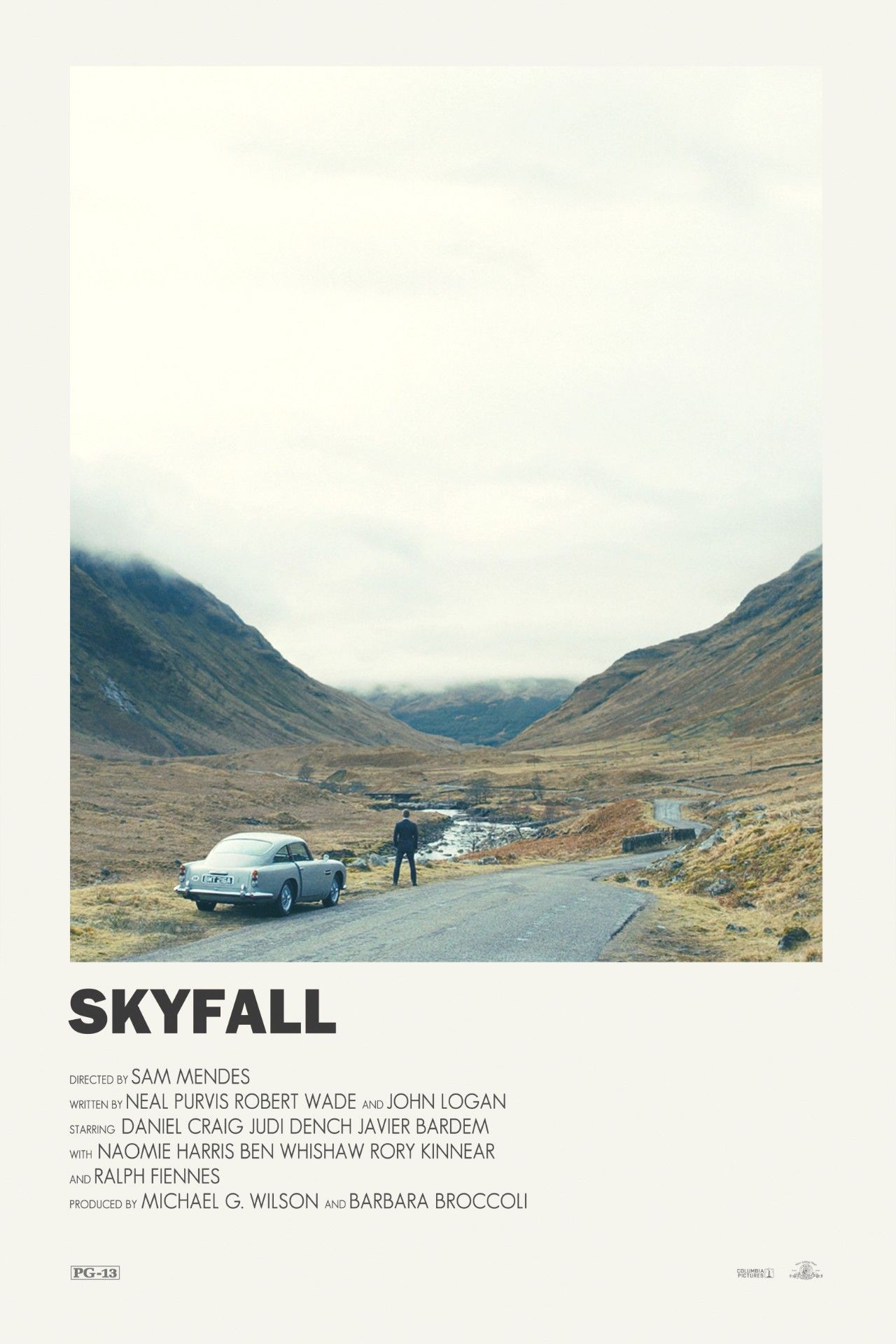 Skyfall alternative movie poster Visit my Store