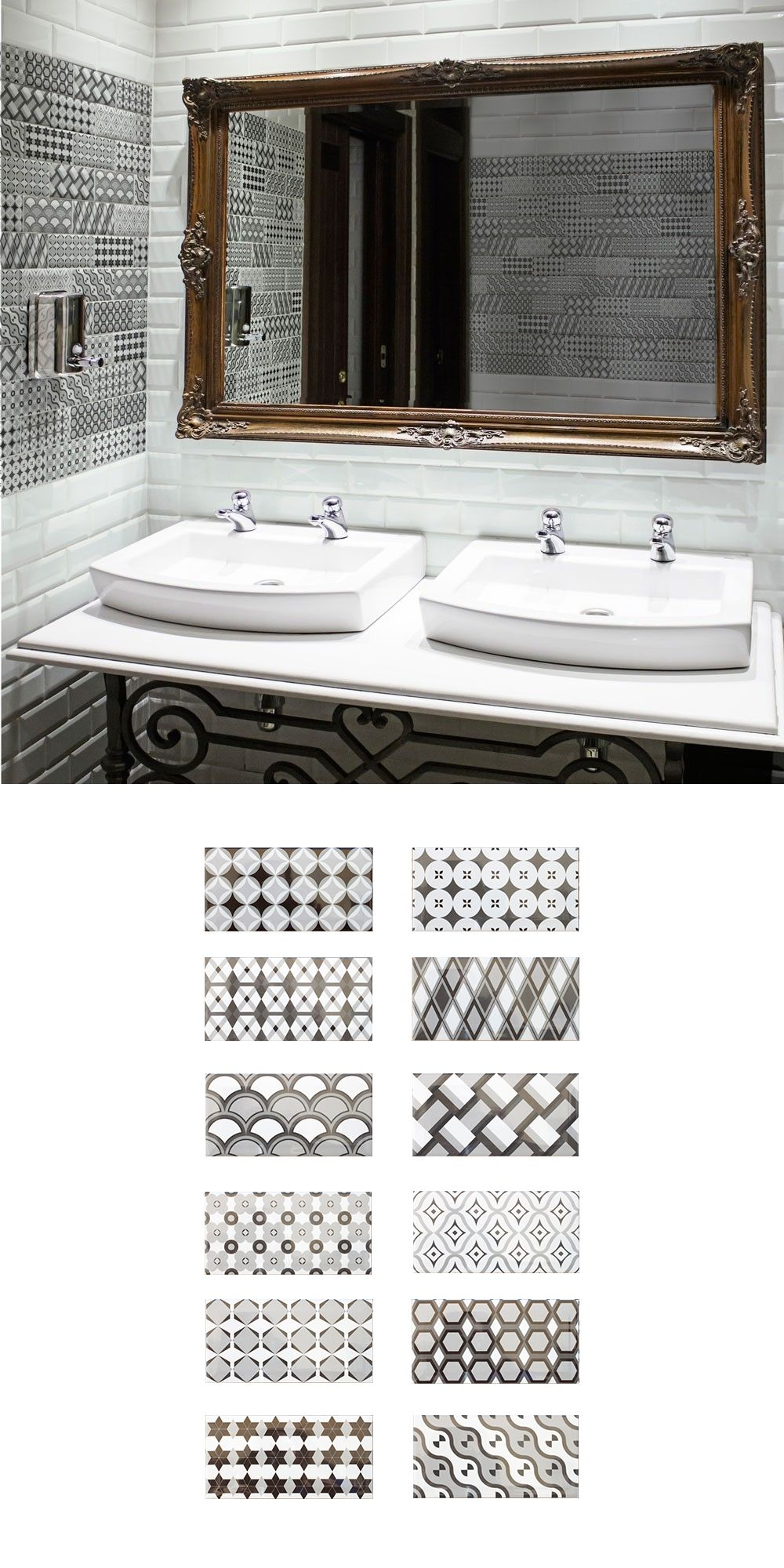 Create An Eye Catching Feature Wall In Your Bathroom Kitchen Or Living Area With