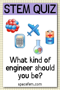 STEM personality quiz: What type of engineer should you be? via spacefem.com
