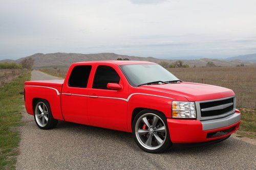 Custom Lowered Chevy Silverado Crew Cab Lowered Chevy Trucks For