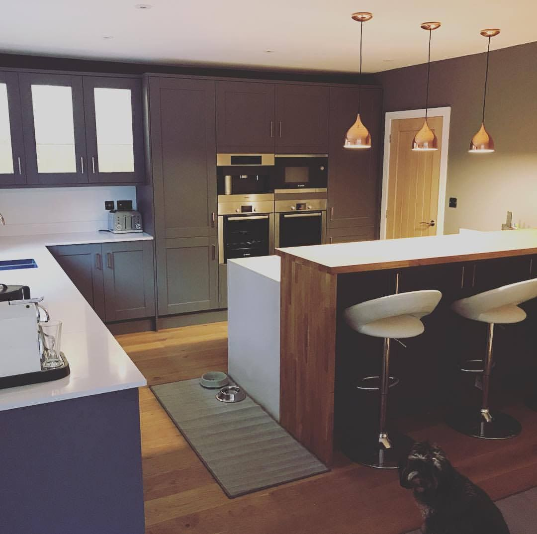 This Fairford Slate Grey Shaker Style Kitchen Was Designed Gorgeous By Design Kitchens Decorating Inspiration