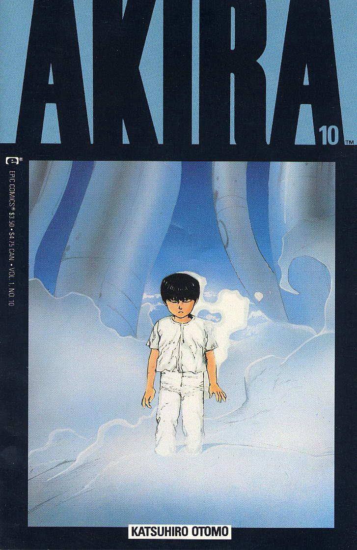 Akira Covers For Epic Comics Akira Manga Akira Akira Comics