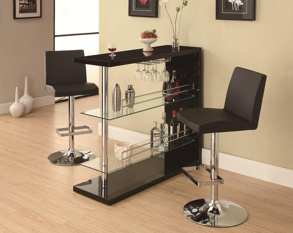 Bar Set by Coaster. Be the envy of all your friends with this sleek ...