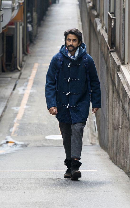 Porter Classics duffle coat