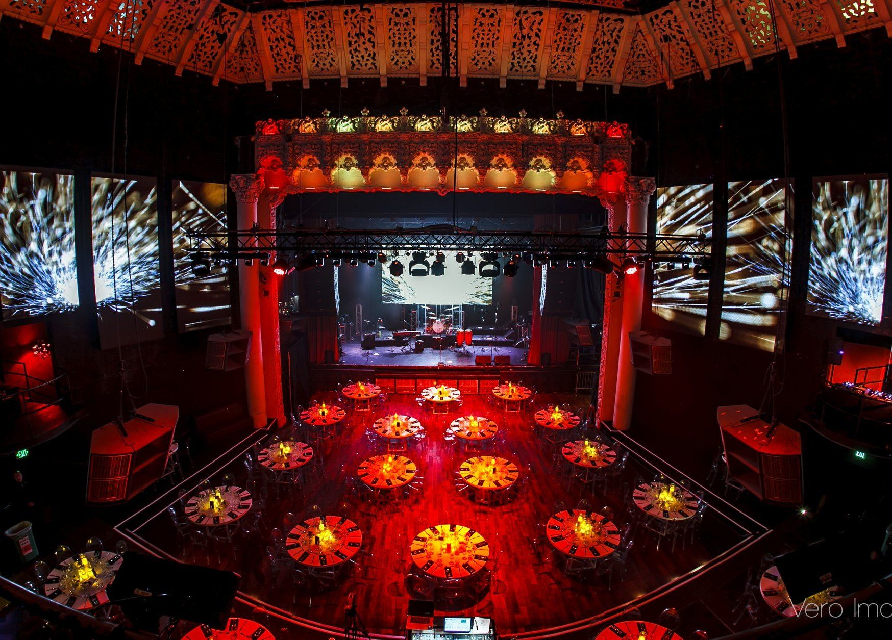 Historic night club and music venue with images los