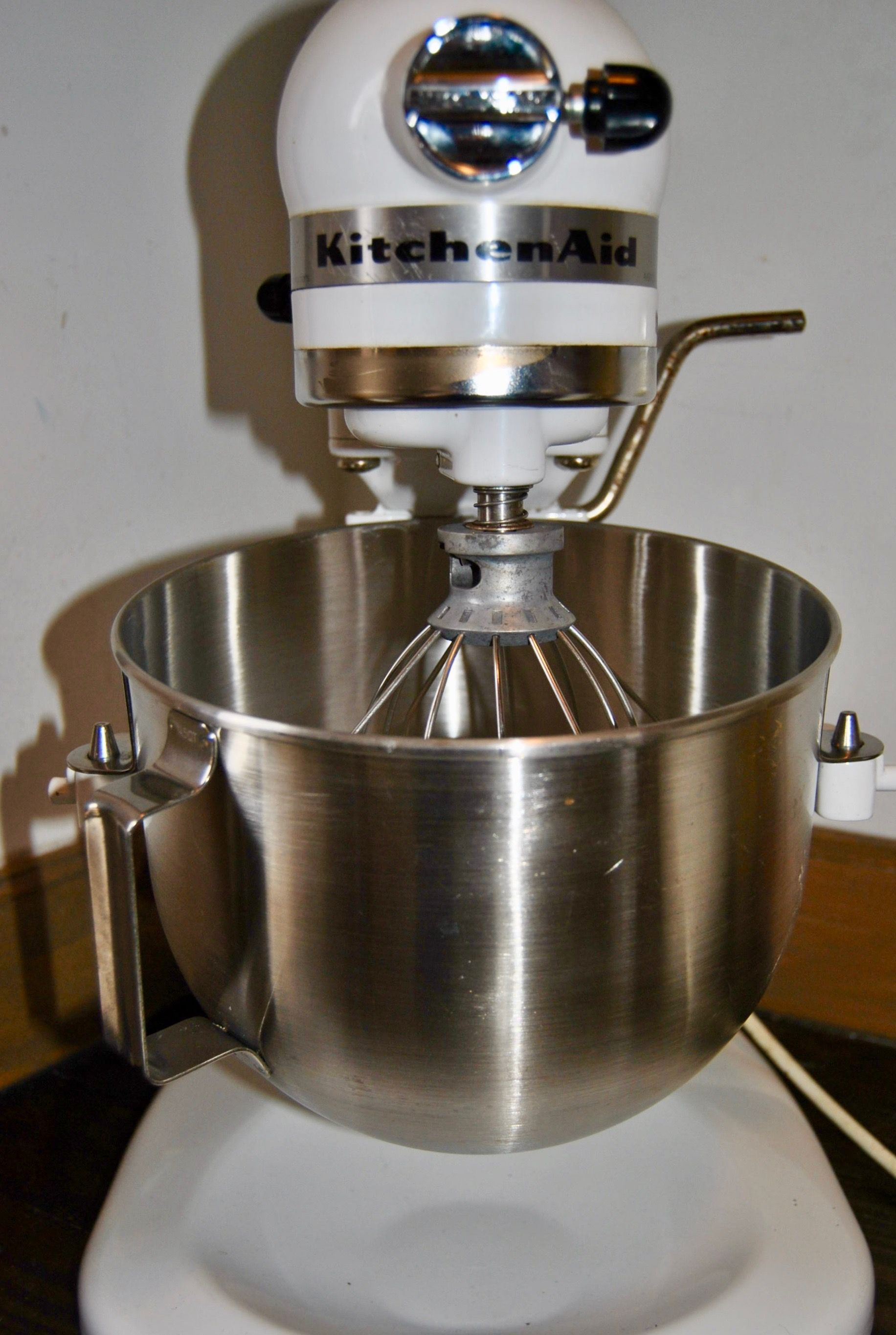 Featherbed Island House has a new (to us) KitchenAid stand