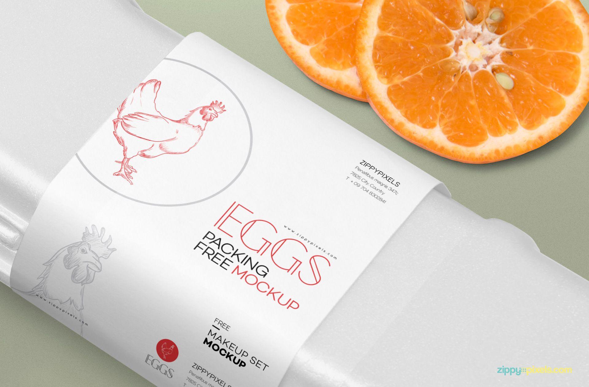 Download Free Egg Crate Mockup Zippypixels Egg Crates Crates Egg Packaging