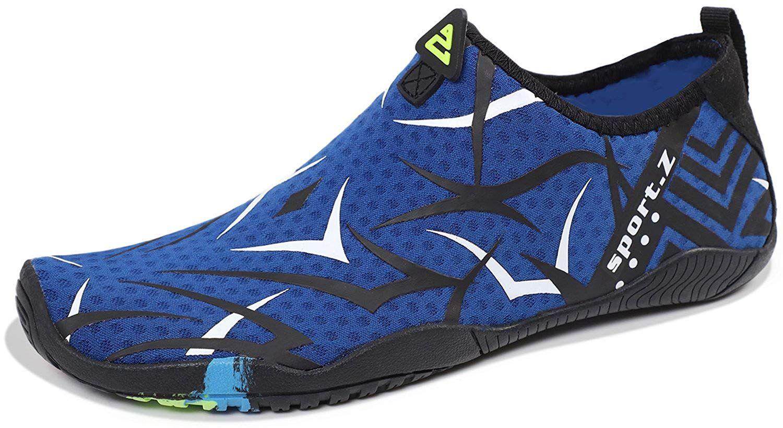 4a24250de37e Heeta Water Sports Shoes for Women Men Quick Dry Aqua Socks Swim Barefoot  Beach Swim Shoes