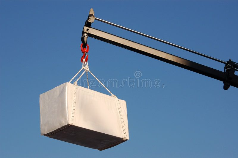 Cargo Massive crane lift big burden