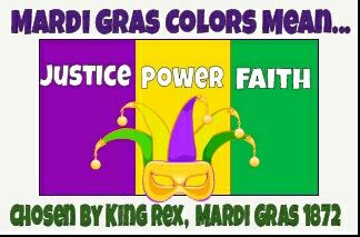 King Rex Selected The Official Mardi Gras Colors In 1872 To Honor The Visiting Russian Grand Duke Alexis Ale Mardi Gras Float Mardi Gras New Orleans Mardi Gras