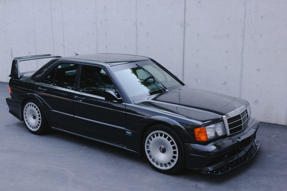 This Mercedes 2 5 16 Evolution Ii Eats American Roads For
